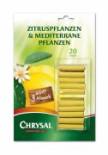 Chrysal Zitrus- und mediterrane Pflanzen Düngestäbchen, Packung, 20 Stück